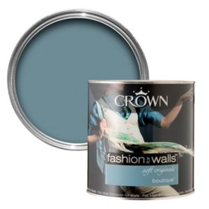 View Crown Fashion For Walls® Boutique Flat Matt Emulsion Paint 2.5L details