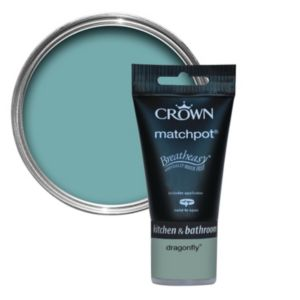 View Crown Breatheasy® Dragonfly Mid Sheen Emulsion Paint 40ml Tester Pot details