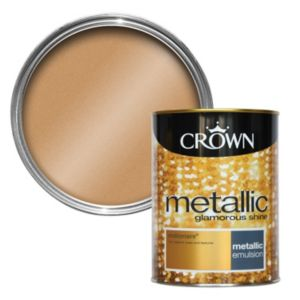 View Crown Fashion For Walls® Millionaire Emulsion Paint 1.25L details
