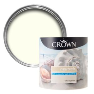 View Crown Neutrals Snowdrop Matt Emulsion Paint 5L details