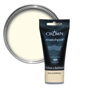 View Crown Breatheasy® Yellow Matt Emulsion Paint 40ml Tester Pot details