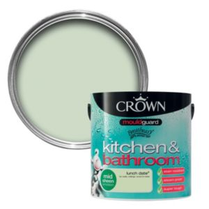 View Crown Kitchen & Bathroom Mouldguard® Lunch Date Mid Sheen Emulsion Paint 2.5L details