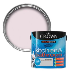 View Crown Kitchen & Bathroom Mouldguard® Soft Sand Matt Emulsion Paint 2.5L details