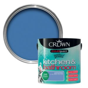 View Crown Kitchen & Bathroom Mouldguard® Periwinkle Mid Sheen Emulsion Paint 2.5L details