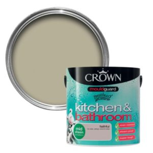 View Crown Kitchen & Bathroom Mouldguard® Faithful Mid Sheen Emulsion Paint 2.5L details