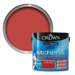 View Crown Kitchen & Bathroom Mouldguard® Toffee Apple Matt Emulsion Paint 2.5L details