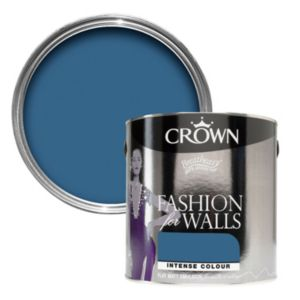 View Crown Fashion For Walls® Double Denim Flat Matt Emulsion Paint 125ml Tester Pot details