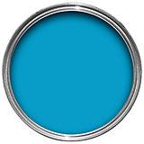 Sandtex exterior bahama blue gloss wood metal paint 750ml departments diy at b q for Sandtex 10 year exterior gloss