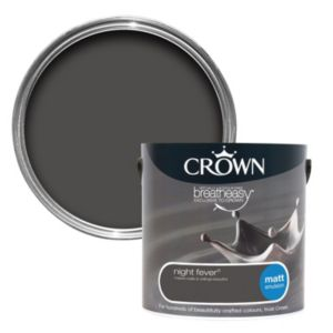 View Crown Breatheasy® Night Fever Matt Emulsion Paint 2.5L details