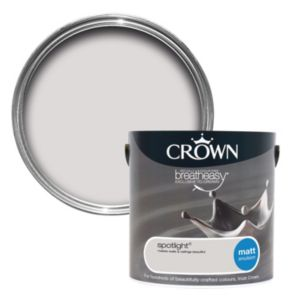 View Crown Breatheasy® Spotlight Matt Emulsion Paint 2.5L details