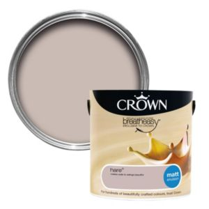 View Crown Breatheasy® Hare Matt Emulsion Paint 2.5L details
