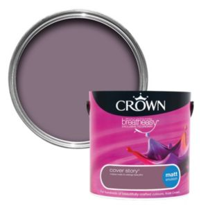 View Crown Breatheasy® Cover Story Matt Emulsion Paint 2.5L details