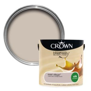 View Crown Breatheasy® East Village Silk Emulsion Paint 2.5L details