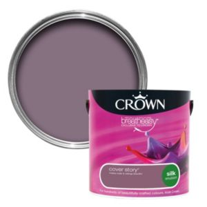 View Crown Breatheasy® Cover Story Silk Emulsion Paint 2.5L details