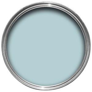 Crown Non Drip Interior Exterior Duck Egg Blue Gloss Paint 750ml Depa