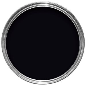 View Dulux Once Interior Black Gloss Paint 750ml details