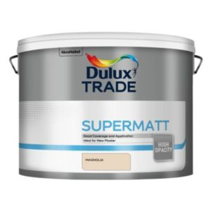 View Dulux Trade Magnolia Matt Emulsion Paint 10L details