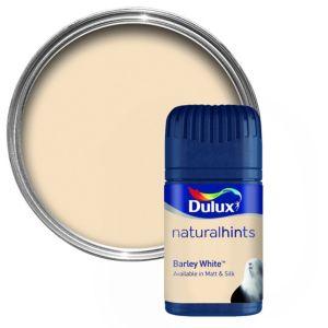 Dulux Barley White Matt Emulsion Paint 50ml Tester Pot