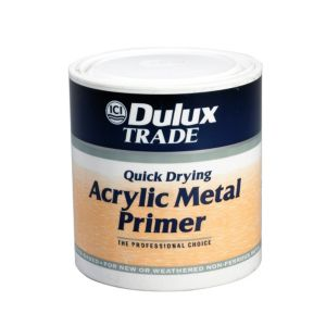 View Dulux Trade Quick Dry Clear Matt Primer & Undercoat 1L details