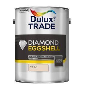 View Dulux Trade Diamond Interior Magnolia Eggshell Paint 5L details