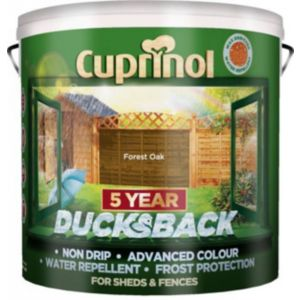 Image of Cuprinol 5 Year Ducksback Forest oak Shed & fence treatment 9L