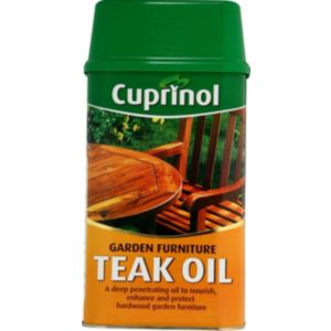 View Cuprinol Teak Timber Preservative 1L Tin details