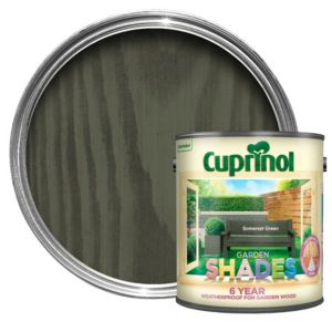 View Cuprinol Garden Shades Somerset Green Matt Woodstain 2.5L details