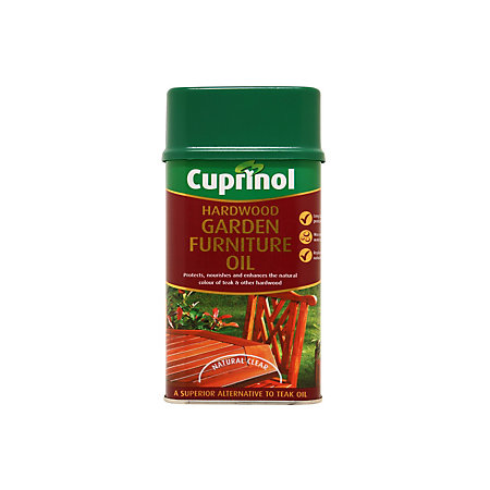 Cuprinol natural hardwood garden furniture oil 500ml for Gardening naturally coupon