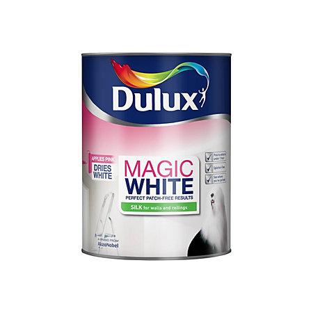 Dulux Silk Paint  L Pure Brilliant White L