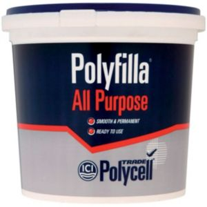 View Polycell Trade Polyfilla White All Purpose Filler 2kg details