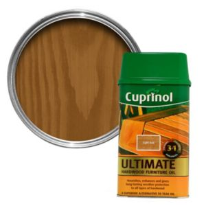 View Cuprinol Hardwood Light Oak Garden Furniture Oil 1L details