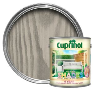 View Cuprinol Garden Shades Pale Jasmine Matt Woodstain 2.5L details
