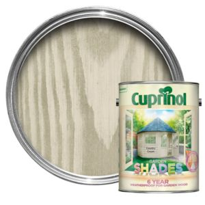 View Cuprinol Garden Shades Country Cream Matt Woodstain 5L details