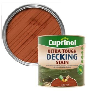 View Cuprinol Ultra Tough Ceder Fall Matt Decking Stain 2.5L details