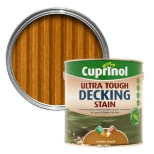 View Cuprinol Ultra Tough Golden Maple Matt Finish Decking Stain 2.5L details