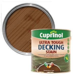 View Cuprinol Ultra Tough Hampshire Oak Decking Stain 2.5L details