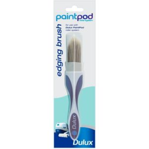 View Dulux Paintpod Split Bristle Tipped Edging Brush (W)1