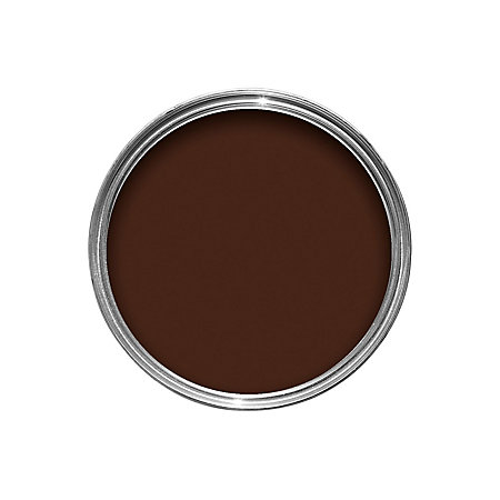 Dulux interior chocolate fondant gloss wood metal paint - How to make dark brown paint ...