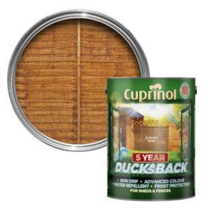 Image of Cuprinol 5 Year Ducksback Autumn gold Shed & fence treatment 5L