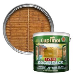 Image of Cuprinol 5 Year Ducksback Autumn gold Shed & fence treatment 9L