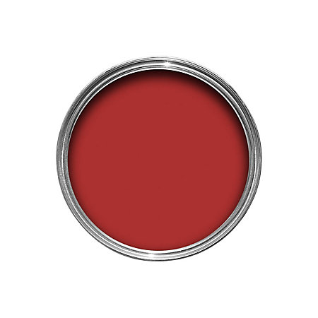 Dulux Weathershield Exterior Monarch Red Satin Wood Metal Paint 750ml Departments Diy At B Q
