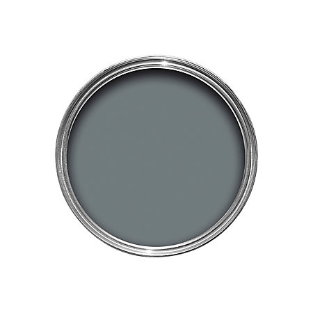 Dulux weathershield external gallant grey satin paint 750ml departments diy at b q - Exterior satin wood paint property ...