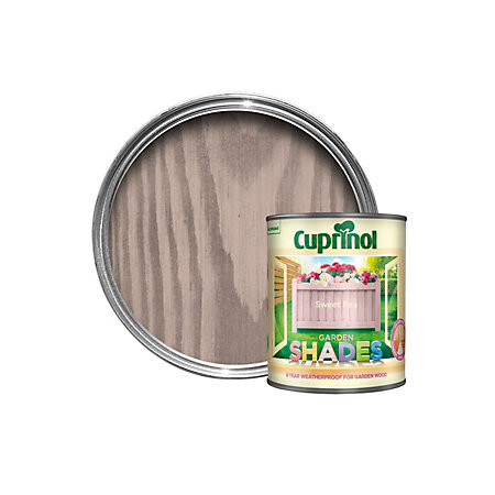 Cuprinol Garden Shades Sweet Pea Matt Wood Paint 1l Departments Diy At B Q