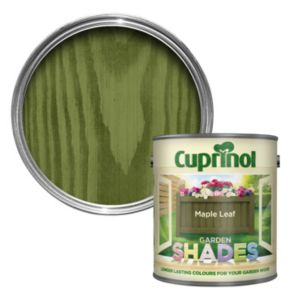 View Cuprinol Garden Shades Maple Leaf Wood Paint 1L details