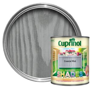 View Cuprinol Garden Shades Coastal Mist Wood Paint 1L details