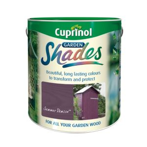 View Cuprinol Garden Shades Summer Damson Matt Woodstain 1L details