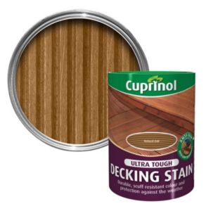 View Cuprinol Ultra Tough Natural Oak Matt Decking Stain 5L details
