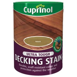 View Cuprinol Ultra Tough Natural Matt Decking Stain 5L Tin details