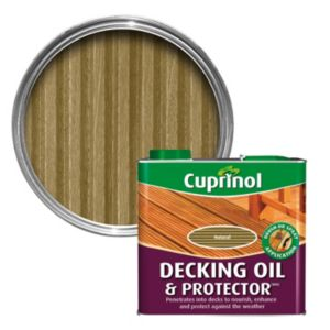 View Cuprinol Beige Matt Finish Deck Oil & Protector 2.5L details