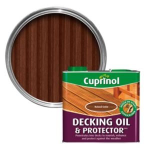 View Cuprinol Natural Cedar Decking Oil & Protector 2.5L details